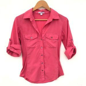 James Perse Bella Swan Twilight Contrast Shirt